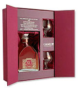 CAMUS vs   ELEGANC   COGNAC  70 d  vs   750ml with two  Glasses in a fancy Package.